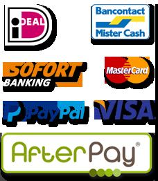Betaalmethoden - Betaal veilig je bestelling via jouw favoriete betaalmethode